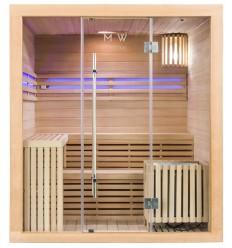 Finnische Sauna Polar Light 180x150 - Traditionelle Sauna