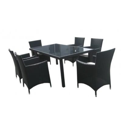Rattan Stühle, Rattan Esstischset, günstige Rattanmöbel