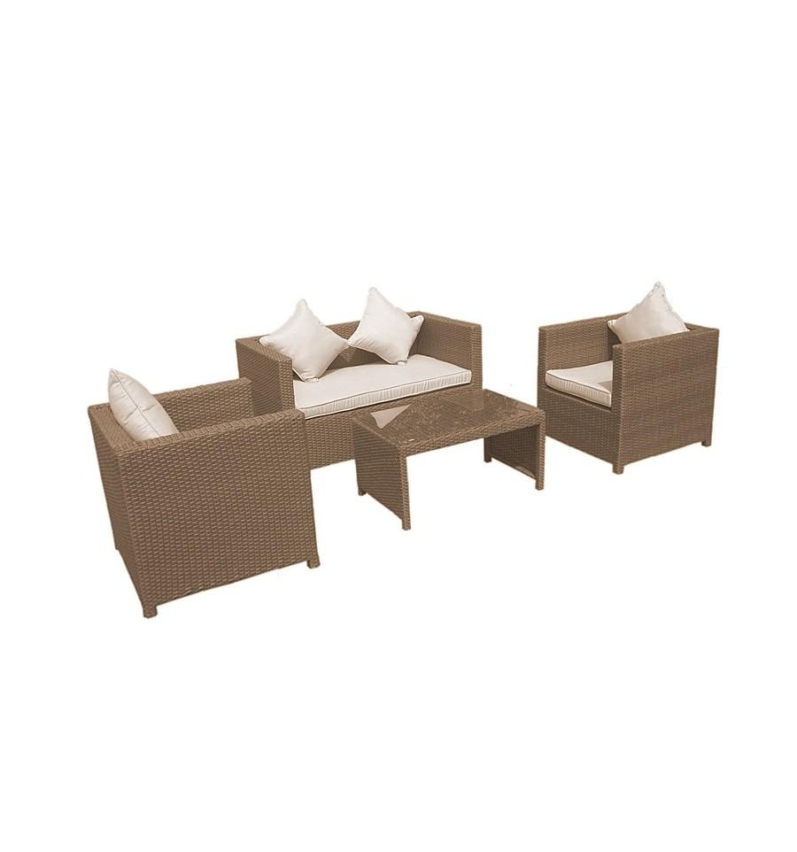 rattan loungegruppe rattan lounge sets g nstige rattanm bel. Black Bedroom Furniture Sets. Home Design Ideas