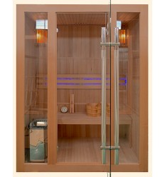 Finnische Sauna FINN DELEXE 150 - Traditionelle Sauna
